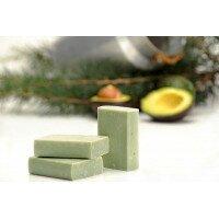 Мыло авокадо / кедр для жирной кожи